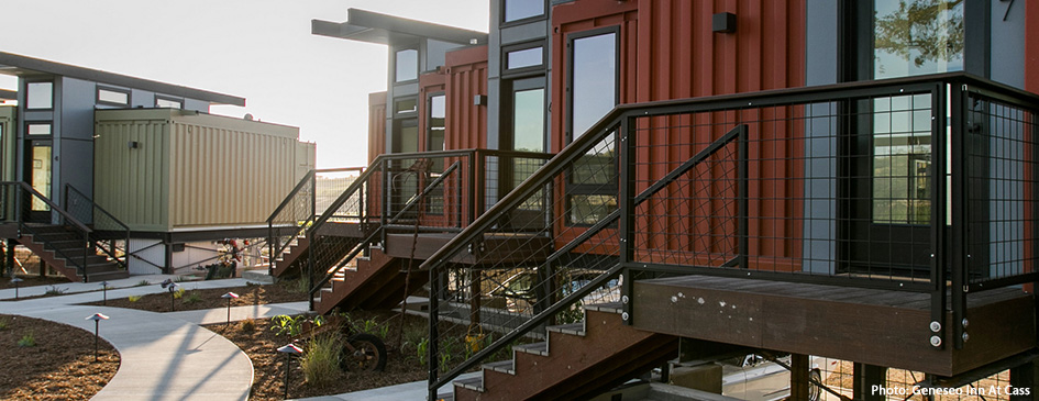 Stay in a shipping container in California!